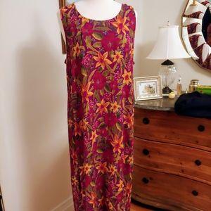 Gorgeous Floral Maxi Dress